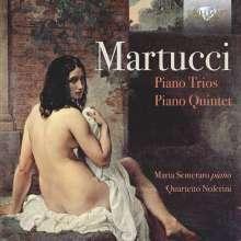 Giuseppe Martucci (1856-1909): Klaviertrios Nr.1 & 2 (op.59 & 62), 2 CDs