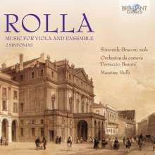 Alessandro Rolla (1757-1841): Violakonzert op.3, CD
