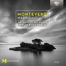 Claudio Monteverdi (1567-1643): Madrigali Libri 1 & 2, 2 CDs
