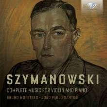 Karol Szymanowski (1882-1937): Sämtliche Werke für Violine & Klavier, 2 CDs