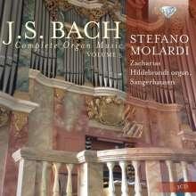 Johann Sebastian Bach (1685-1750): Sämtliche Orgelwerke Vol.3, 3 CDs