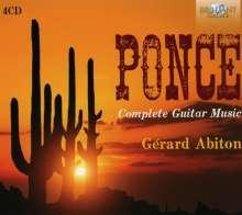 Manuel Maria Ponce (1882-1948): Sämtliche Gitarrenwerke, 4 CDs