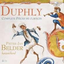 Jacques Duphly (1715-1789): Pieces de Clavecin, 4 CDs