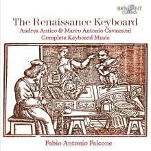 """Marco Antonio """"da Bologna"""" Cavazzoni (1485-1569): Cembalo- und Orgelwerke, CD"""