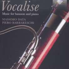 "Musik für Fagott & Klavier - ""Vocalise"", CD"