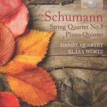 Robert Schumann (1810-1856): Streichquartett Nr.3, CD