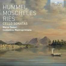 Marco Testori & Costantino Mastroprimiano - Cello Sonatas, CD