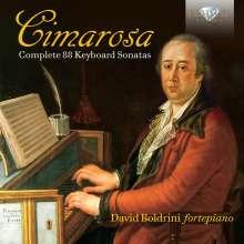 Domenico Cimarosa (1749-1801): Sämtliche 88 Klaviersonaten, 2 CDs