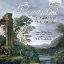 Niccolo Paganini (1782-1840): Kammermusik für Streicher, CD