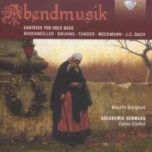 Mauro Borgioni - Abendmusik (Basskantaten), CD