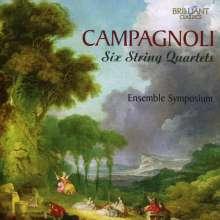 Bartolomeo Campagnoli (1751-1827): Streichquartette Nr.1-6, CD