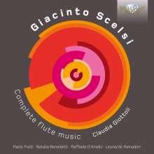 Giacinto Scelsi (1905-1988): Kammermusik mit Flöte, CD