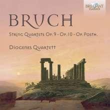 Max Bruch (1838-1920): Sämtliche Streichquartette, CD