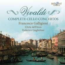 Antonio Vivaldi (1678-1741): Sämtliche Cellokonzerte, 4 CDs