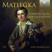 Wenzeslaus Matiegka (1773-1830): Sämtliche Gitarrenwerke, 7 CDs