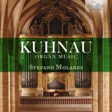 Johann Kuhnau (1660-1722): Orgelwerke, 3 CDs