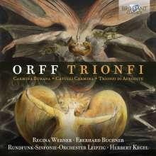 Carl Orff (1895-1982): Trionfi, 2 CDs