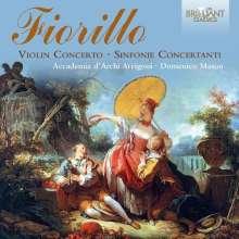Federigo (Frederico) Fiorillo (1755-1823): Sinfonie concertante Nr.1-3, CD
