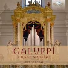 Baldassare Galuppi (1706-1785): 22 Orgelsonaten, 2 CDs