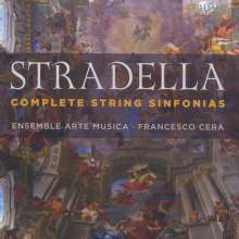 Alessandro Stradella (1642-1682): Sinfonias für 2 Violinen & Bc Nr. 1-9, CD