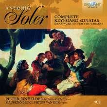 Antonio Soler (1729-1783): Cembalosonaten, 9 CDs
