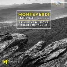Claudio Monteverdi (1567-1643): Madrigali Libri 3 & 4, 2 CDs