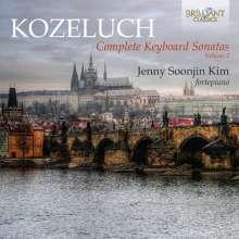 Leopold Kozeluch (1747-1818): Sämtliche Sonaten für Tasteninstrumente Vol.2, 2 CDs