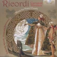 Giulio Ricordi (1840-1912): Werke für Klavier 4-händig, CD