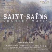 Camille Saint-Saens (1835-1921): Kammermusik, CD