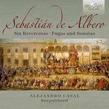 Sebastian de Albero (1722-1756): Recercata, Fuga & Sonata Nr.1-6, 2 CDs