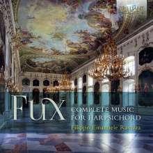 Johann Joseph Fux (1660-1741): Sämtliche Werke für Cembalo, 2 CDs