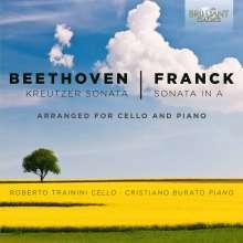 """Ludwig van Beethoven (1770-1827): Violinsonate Nr.9 """"Kreutzer"""" für Cello & Klavier, CD"""