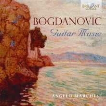 Dusan Bogdanovic (geb. 1955): Gitarrenwerke, CD