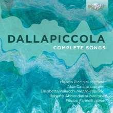 Luigi Dallapiccola (1904-1975): Sämtliche Lieder, 2 CDs