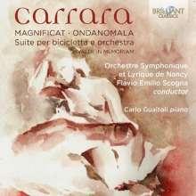 Cristian Carrara (geb. 1977): Magnificat für Klavier & Orchester, CD