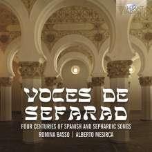 Voces de Sefarad - 4 Centuries of Spanish and Sephardic Songs, CD