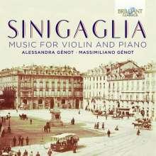 Leone Sinigaglia (1868-1944): Werke für Violine & Klavier, CD