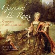 Gaspard le Roux (1660-1707): Sämtliche Werke für Cembalo, 2 CDs
