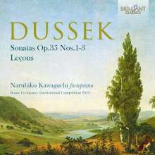 Johann Ludwig Dussek (1760-1812): Klaviersonaten op.35 Nr.1-3, CD