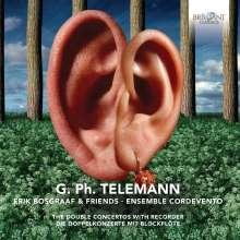 Georg Philipp Telemann (1681-1767): Blockflötenkonzerte, CD