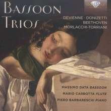 """Musik für Fagott, Flöte & Klavier """"Bassoon Trios"""", CD"""