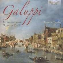 Baldassare Galuppi (1706-1785): Cembalosonaten Nr.1-6, CD