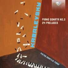 Dimitri Kabalewsky (1904-1987): 24 Preludes op.38, CD