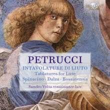 Sandro Volta - Petrucci, CD