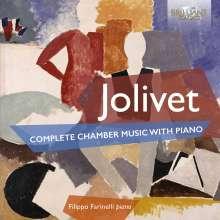 Andre Jolivet (1905-1974): Sämtliche Kammermusik mit Klavier, 2 CDs