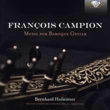 Francois Campion (1686-1748): Gitarrenwerke, CD