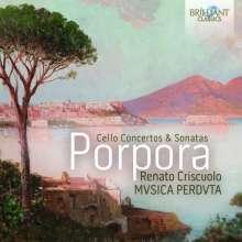 Nicola Antonio Porpora (1686-1768): Cellokonzerte & Sonaten, 2 CDs