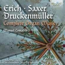 Christoph Wolfgang Druckenmüller (1687-1741): Orgelwerke, CD