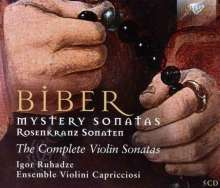 Heinrich Ignaz Biber (1644-1704): Rosenkranz-(Mysterien-)Sonaten Nr.1-16, 5 CDs