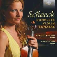 Othmar Schoeck (1886-1957): Violinsonaten op.16, op.46, WoO.22, CD